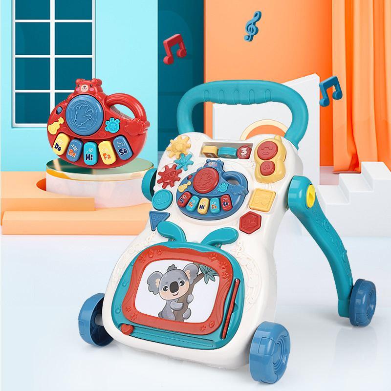 andador infantil multifuncional caminhante para criancas pequenas carrinho com 4