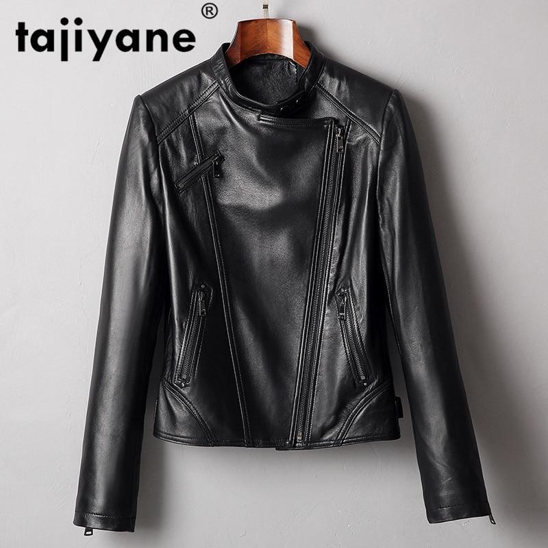 Real Genuine Leather Jacket Women Clothes 2020 Korean Women's Fur Coat Vintage Spring Autumn Sheepsk