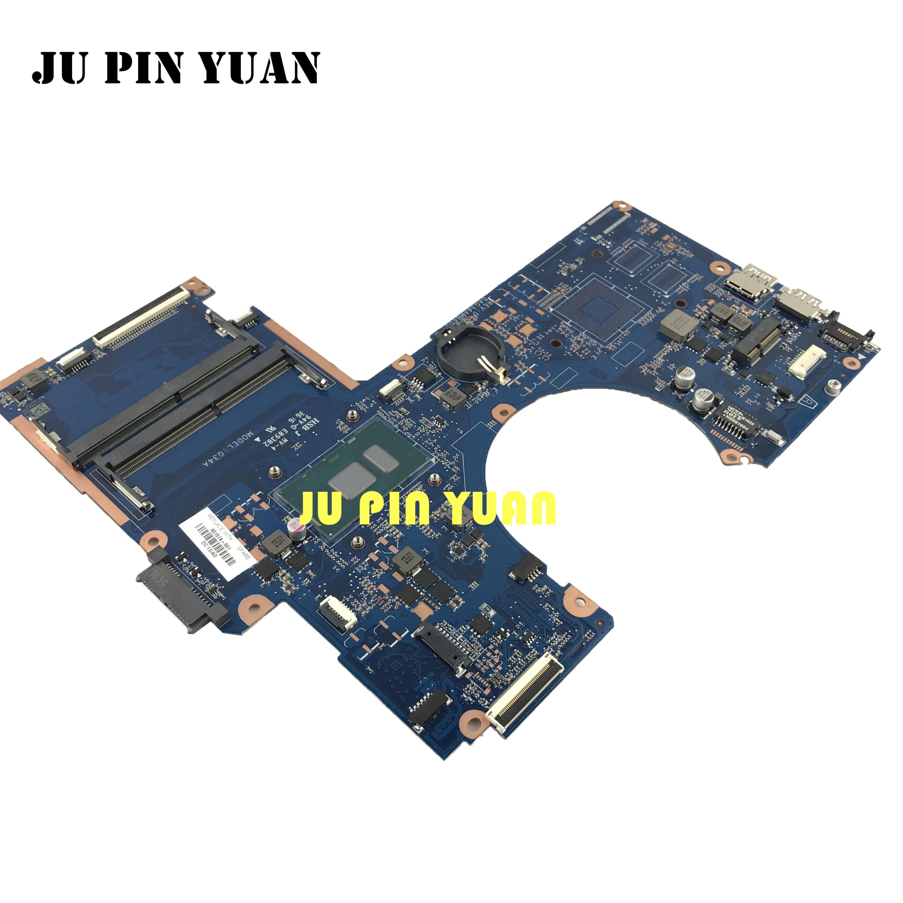 Placa base 901574-601 DAG34AMB6D0 G34A para HP Pavilion serie 15-AU 901574-001 con cpu de i5-7200U totalmente probada