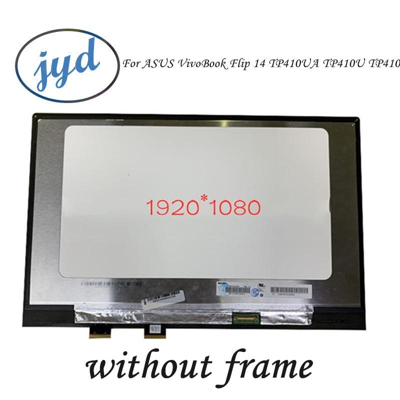 Envío Gratis para ASUS Vivobook abatible 14 TP410 UX461 led lcd touch digitalizador montaje monitor