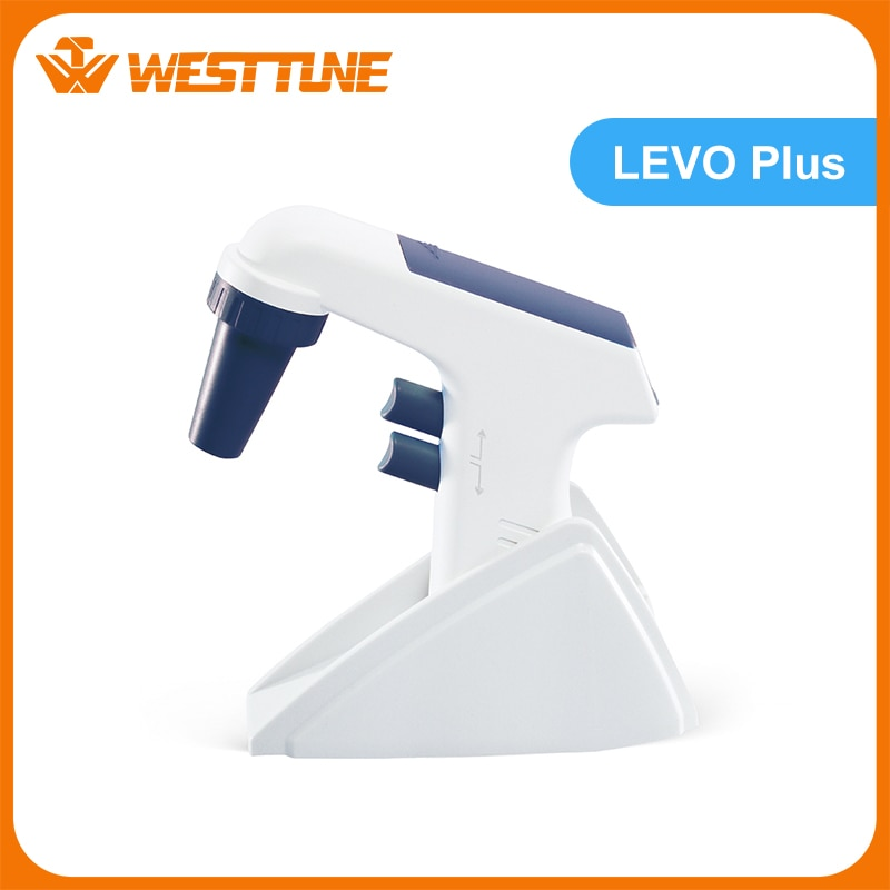 Levo Plus Electric Pipette Filler, With LCD Display, Suitable for Glass or Plastic Pipette and Pasteur Pipettes (0.1 -100mL)