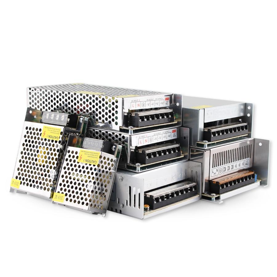 AC DC 5V 12V 24V Power Supply Adapter 10A 15A 20A 25A 30A lighting Transformers 220V To 5 12 24 V Volt Power Supply Led Driver
