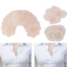 10/20/50pcs Soft Nipple Covers Disposable Breast Petals Sexy Nipple Tape Stick On Bra Pad Pastie Boob Breast Tape Intimates