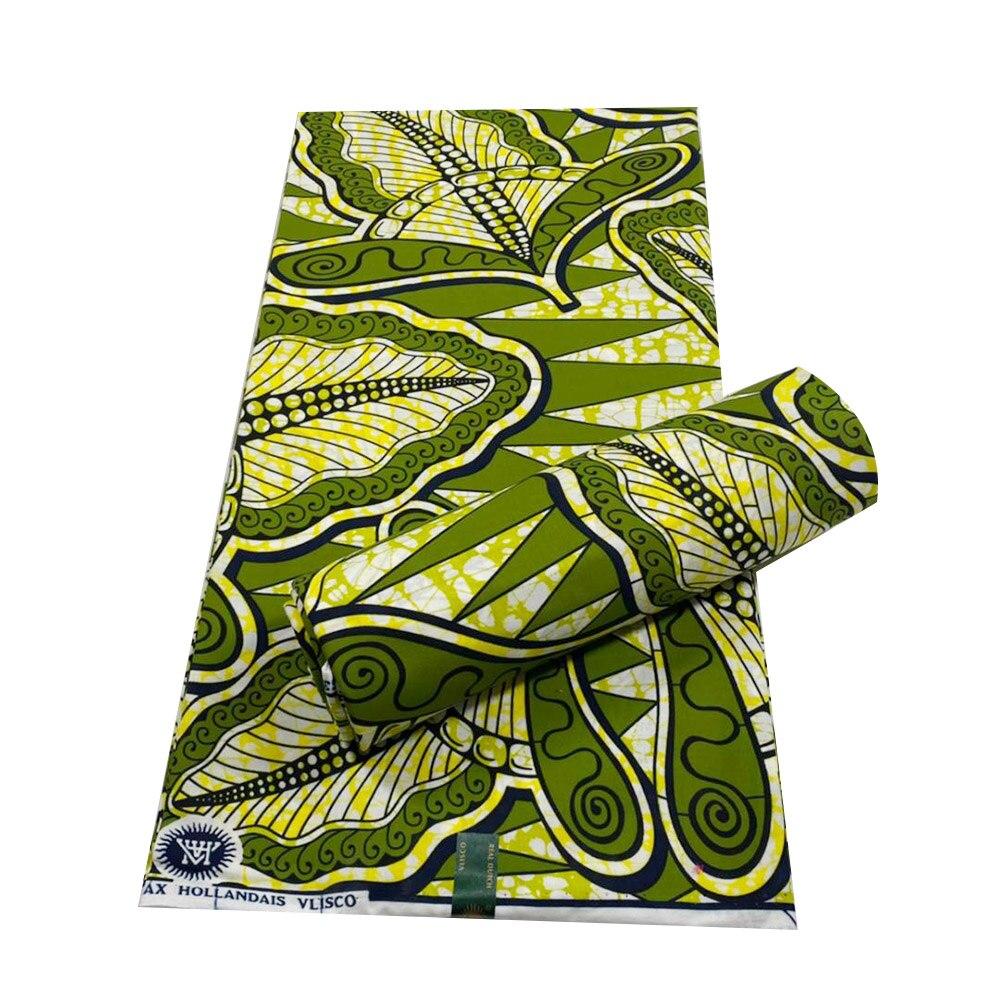100% Cotton tissus wax print 6yard/lot nigerian ankara fabrics 2021 latest prints african cotton material