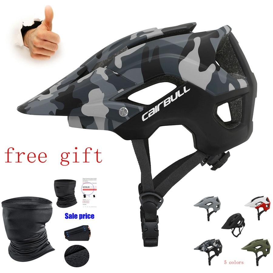 CAIRBULL ultraligero en molde casco de ciclismo de casco integral mtb de...