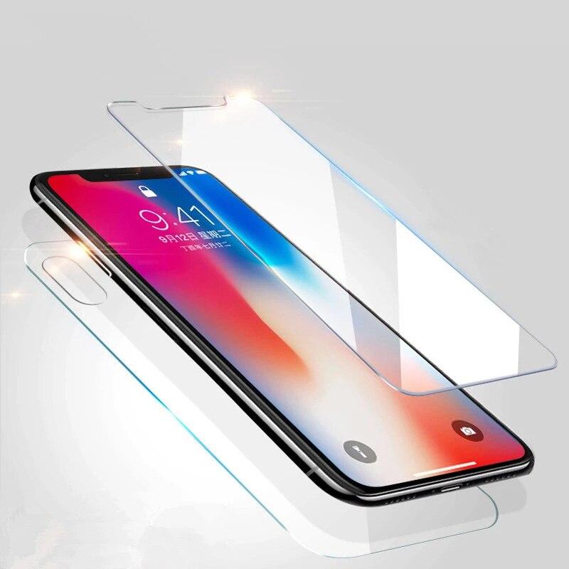 9H, защитное стекло, на айфон 11 Pro, Защита экрана, стекло на айфон 7, переднее заднее стекло на айфон 6, X XS XR 11 Pro Max, защитное стекло на айфон 7 плюс,...