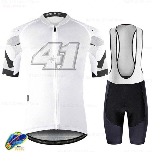 Conjunto de ropa de ciclismo transpirable para verano, maillot de equipo deportivo...