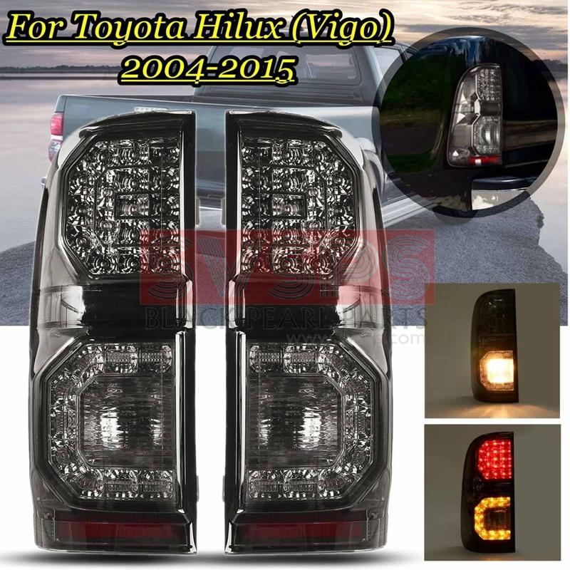 Auto Led Rücklicht Für Toyota Hilux Vigo KUN26 SR SR5 Kollege 2004 20