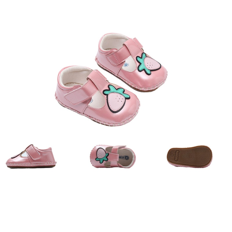 Summer Baby Love Cartoon Velcro Sandal Non-Leak Toe Soft-Soled Non-Slip Walking Shoes
