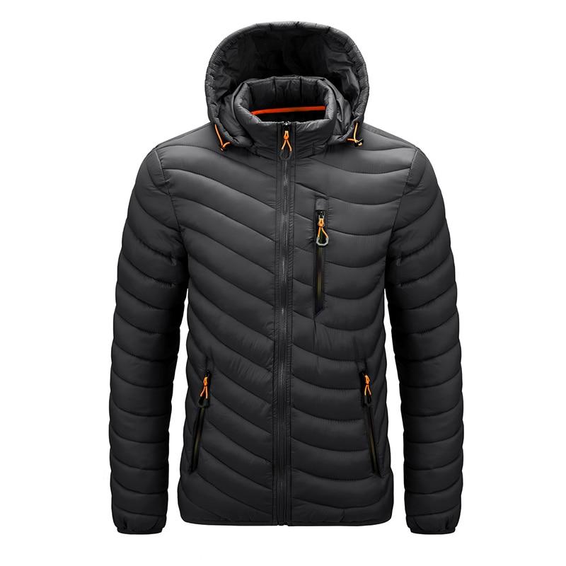 Мужская зимняя куртка, легкий пуховик, Мужская ветровка, мужская теплая куртка, ветровка, верхняя одежда