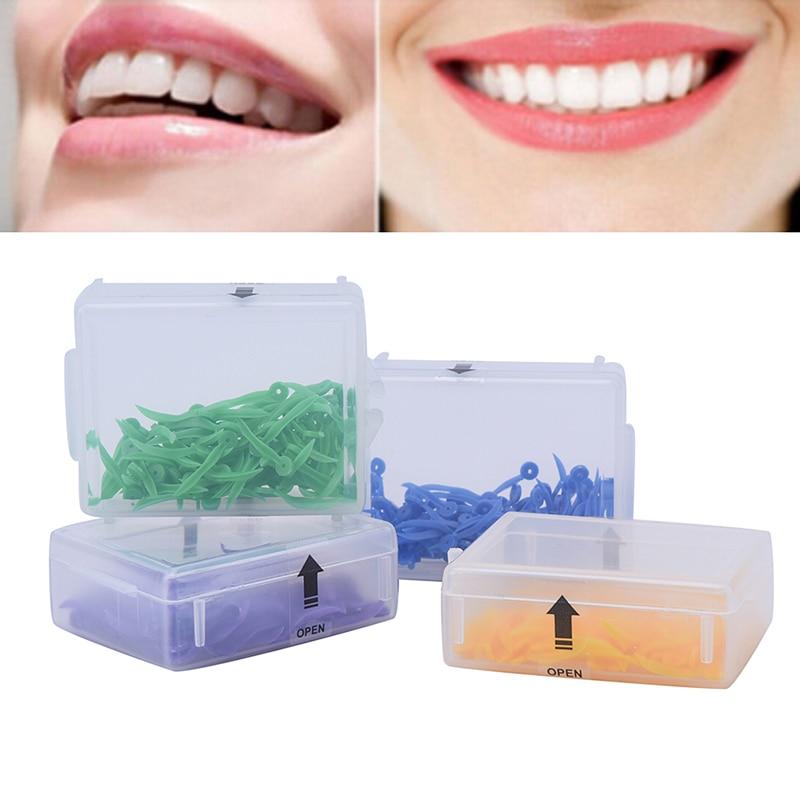Одноразовый стоматологический клин с отверстием, клин для зубов диастема, медицинский пластиковый дуговой вогнутый дизайнерский стоматол...