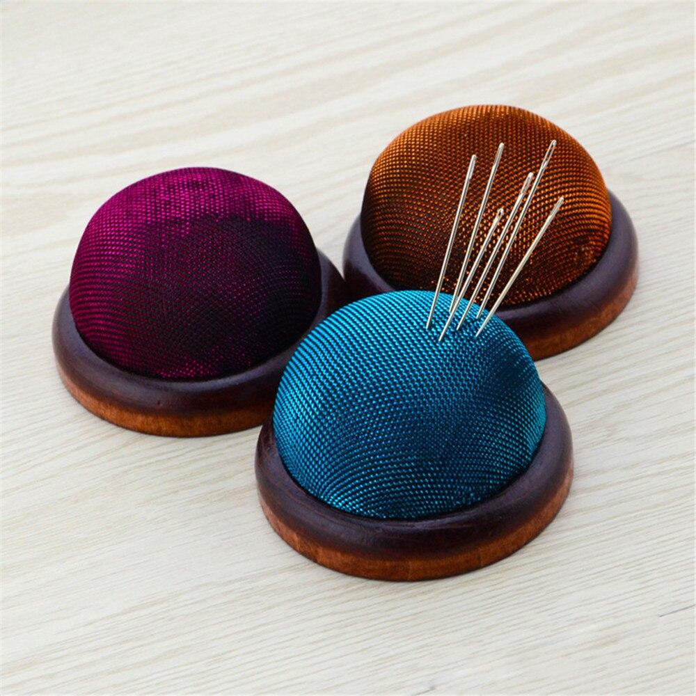 Base inferior de madera aguja Pin cojín titular almohada titular costura artesanía costura Diy artesanía