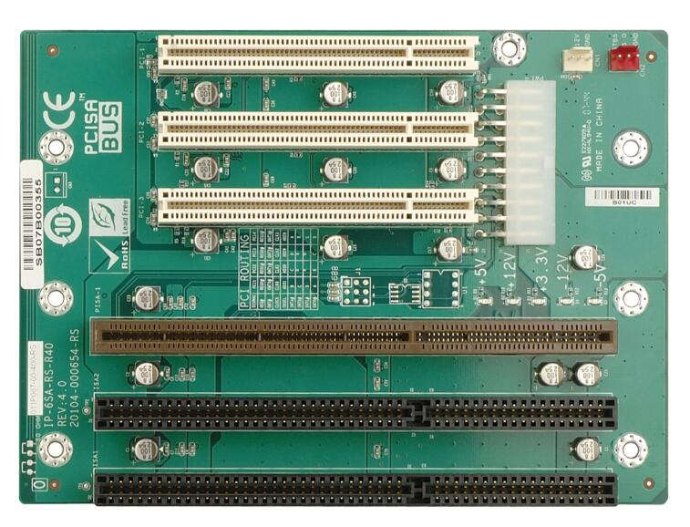Nova IPC 3 * Slot de Barramento PCI IP-6SA-RS-R40 PCISA 2 * ISA Industrial PCISA backplane passivo Cartão CPU Suporta ATX interface de energia