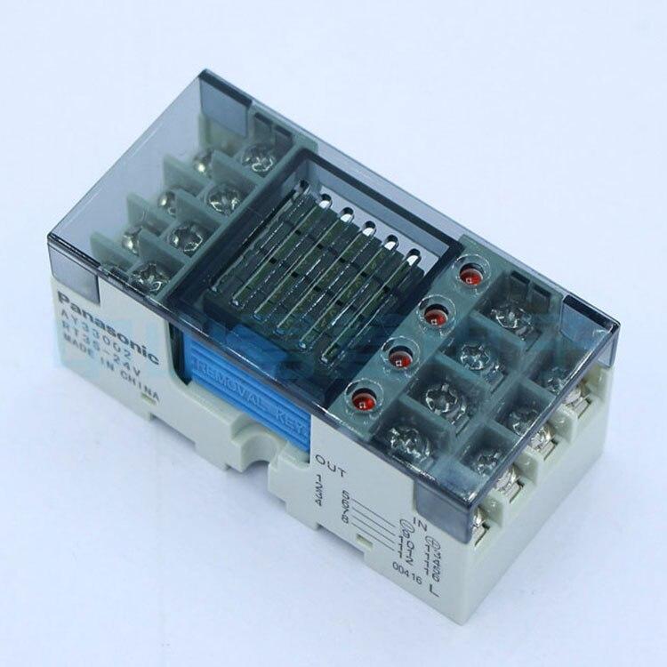 Original genuíno ay33002 RT3S-24V combinação de relé terminal ay33002 RT3S-24V base relé pa1a