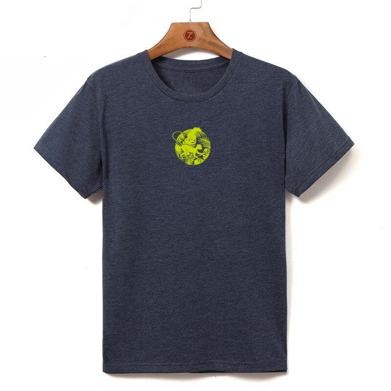 Европейский размер 2019, Мужская футболка с коротким рукавом, высокое качество, Мужская футболка, мужская повседневная футболка s 080