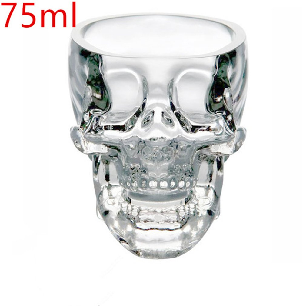 Creative Skull Wine Bottle Glass Crystal Vodka Portable Container Home Hotsale