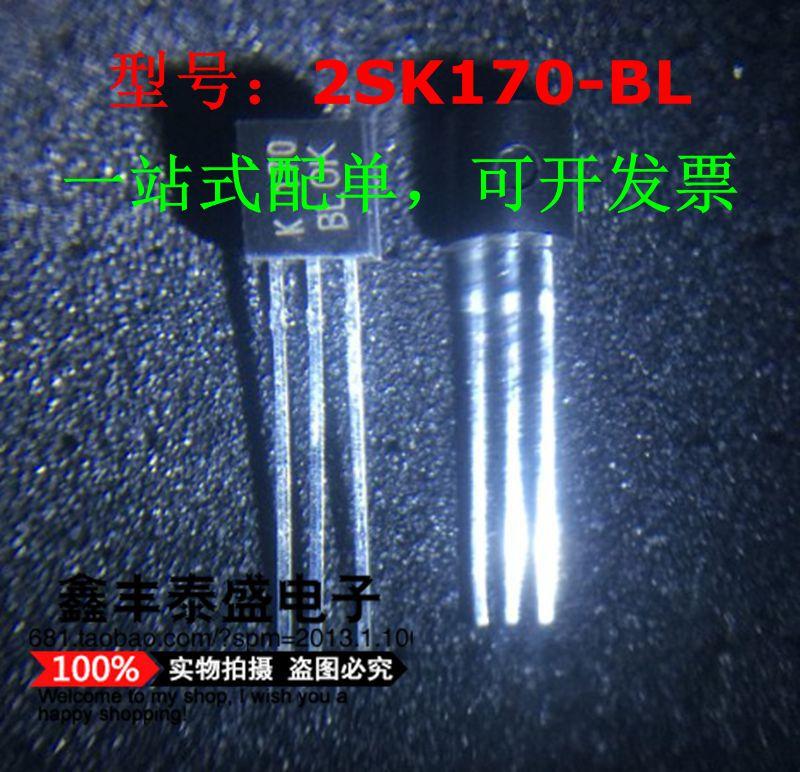 100% original novo em estoque 2sk170-bl 2sk170 marcação k170bl to-92