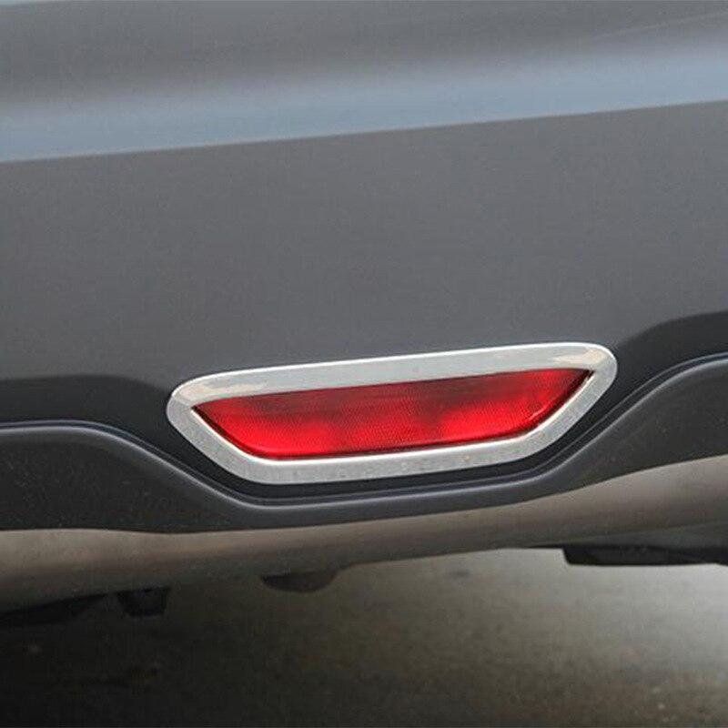Luz trasera de freno de acero inoxidable SUS304, moldura embellecedora para Toyota CHR C-HR 2017 2018