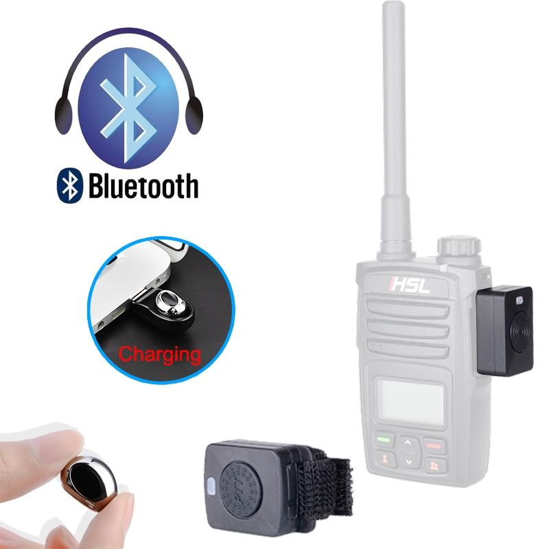 Walkie Talkie Mini Bluetooth Headset K/M Plug Tiny Earphone Handheld Small Wireless headphone For Baofeng UV82 UV5R BF-888S 777S