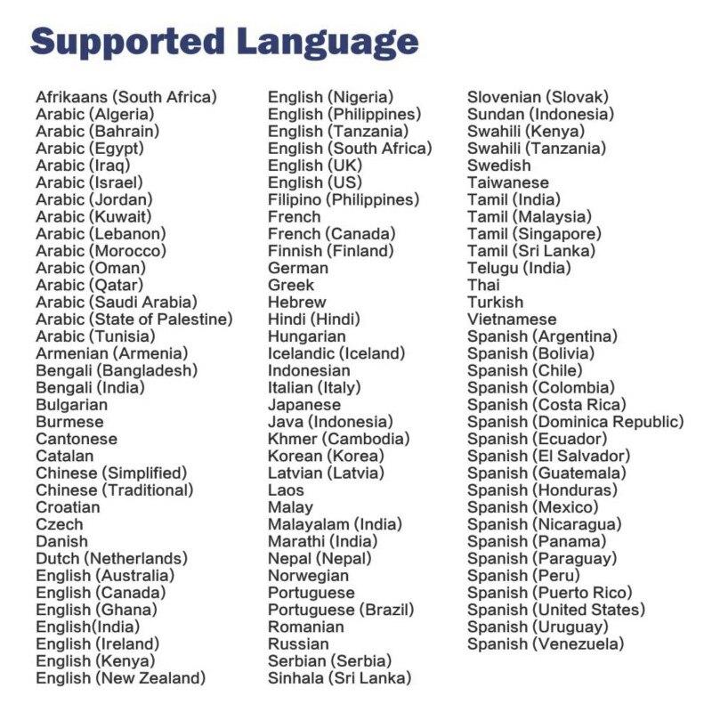 107 Languages Two-Way Language Translator Real-Time WiFi Offline Photo Recording Translator Language Translator Traductor enlarge