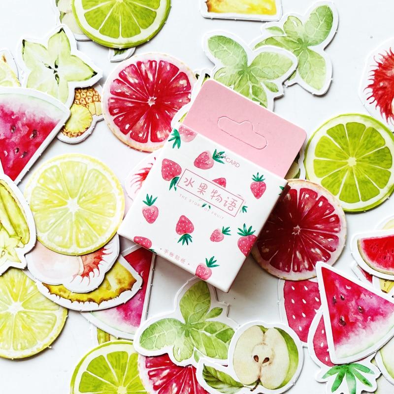 45-pz-pacco-carino-la-storia-della-frutta-estate-frutta-adesivi-scrapbooking-fai-da-te-diario-album-stick-etichetta-decor-cancelleria