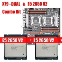 x79 chipset motherboard package dual xeon e5 2650 v2 lga 2011 supports eight channel ddr3 258g m 2 nvme sata 3 0 usb 3 0