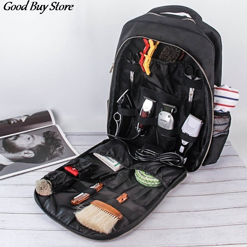 Hairdressing Tool Backpack Waterproof Barber Scissors Bag Luggage Storage Organizer Backpacks Travel