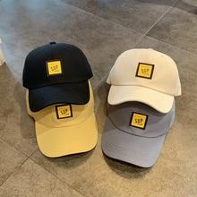 Hat Men's Fashion Korean Peaked Cap Ins Fashion Brand Casual Sun-Proof Baseball Cap Women's New Fash