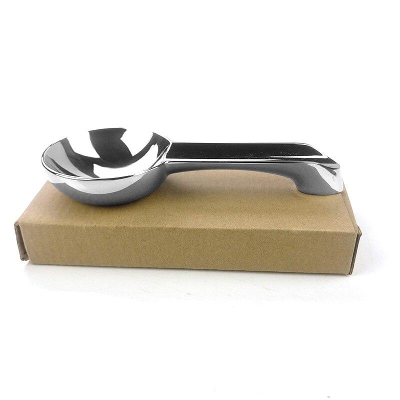 Cenicero de viaje portátil tamaño Mini de acero inoxidable plateado 1 Juego