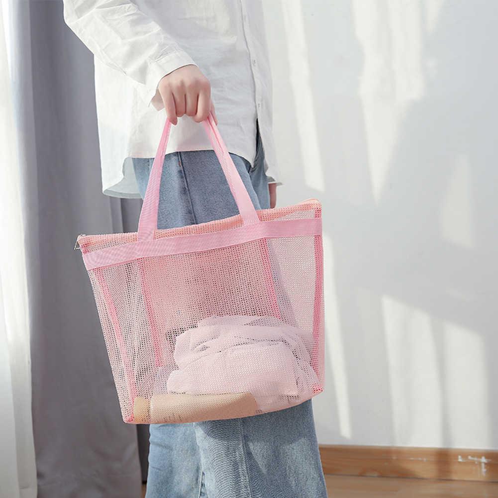Women Mesh Transparent Bag Double Layer Heat Preservation Large Capacity Picnic Beach Bags Holiday Beach Park Sports Shoulder Ba Shoulder Bags Aliexpress