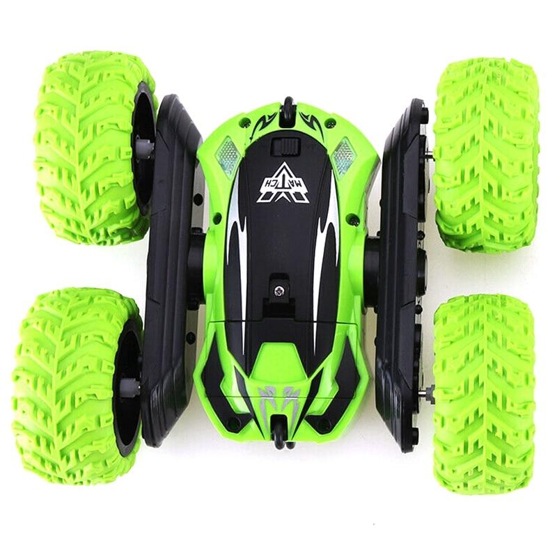 360 grados de rotación truco Rc coche 4Wd de alta velocidad vehículo niños juguete Control remoto 2,4 Ghz