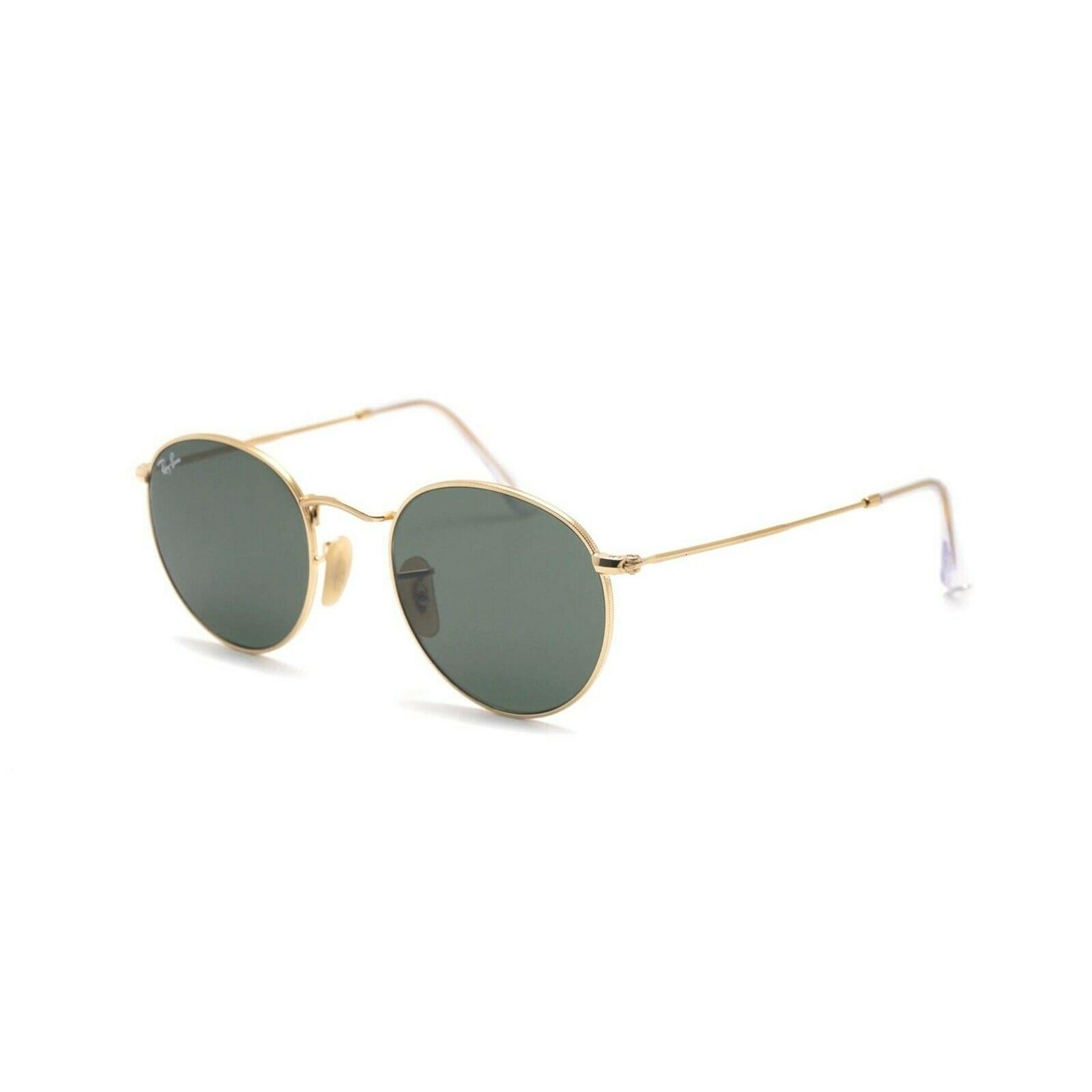 Gafas de sol Ray-Ban RB3447N, METAL redondo 001 ARISTA, CRISTAL VERDE Cal.53