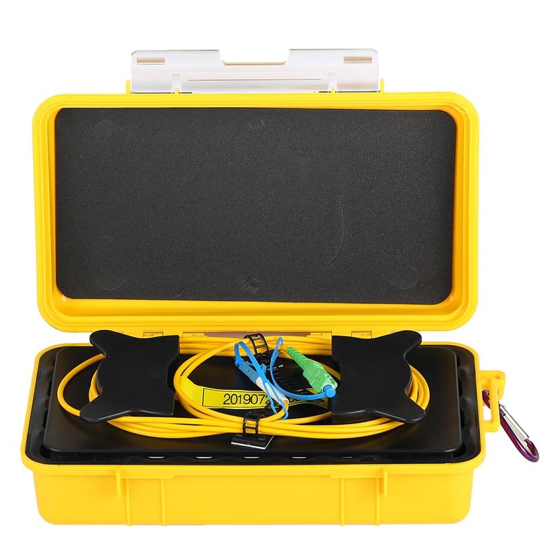SC/APC-LC/UPC OTDR zona eliminador de fibra óptica OTDR caja de Cable de lanzamiento 500M 1Km 2Km SM/1310/1550nm