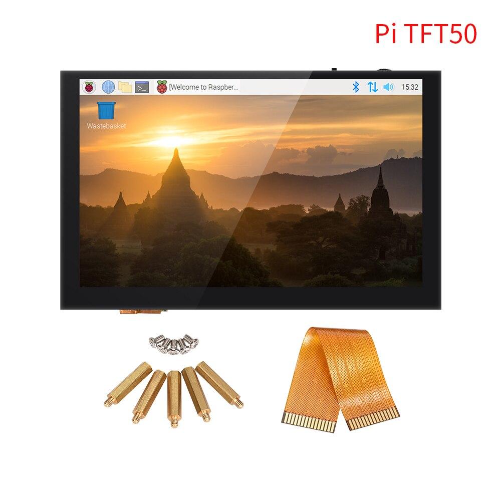 BIGTREETECH PITFT50 V2.0 شاشة تعمل باللمس 5 بوصة DSI 800x480 شاشة عرض LCD بالسعة ل Octoprint التوت بي 4 3B زائد 2B