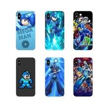 Akcesoria obudowa na telefon obejmuje Megaman Mega Man X dla Samsung A10 A30 A40 A50 A60 A70 Galaxy S2 uwaga 2 3 grand rdzeń Prime