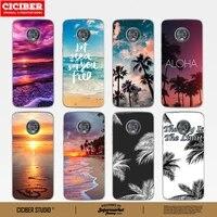 sunset sea case for motorola moto g8 g9 g10 g7 g6 e7 e6 e6s e5 e4 plus play power lite soft tpu phone cases cover funda capa