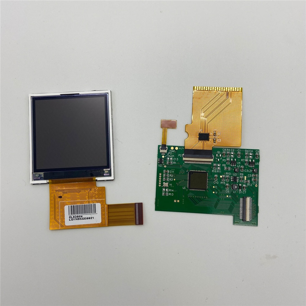 LCD Highlight pantalla con Kits de reparación de espejo para Nintend GB consola DMG Game Machine piezas de reparación