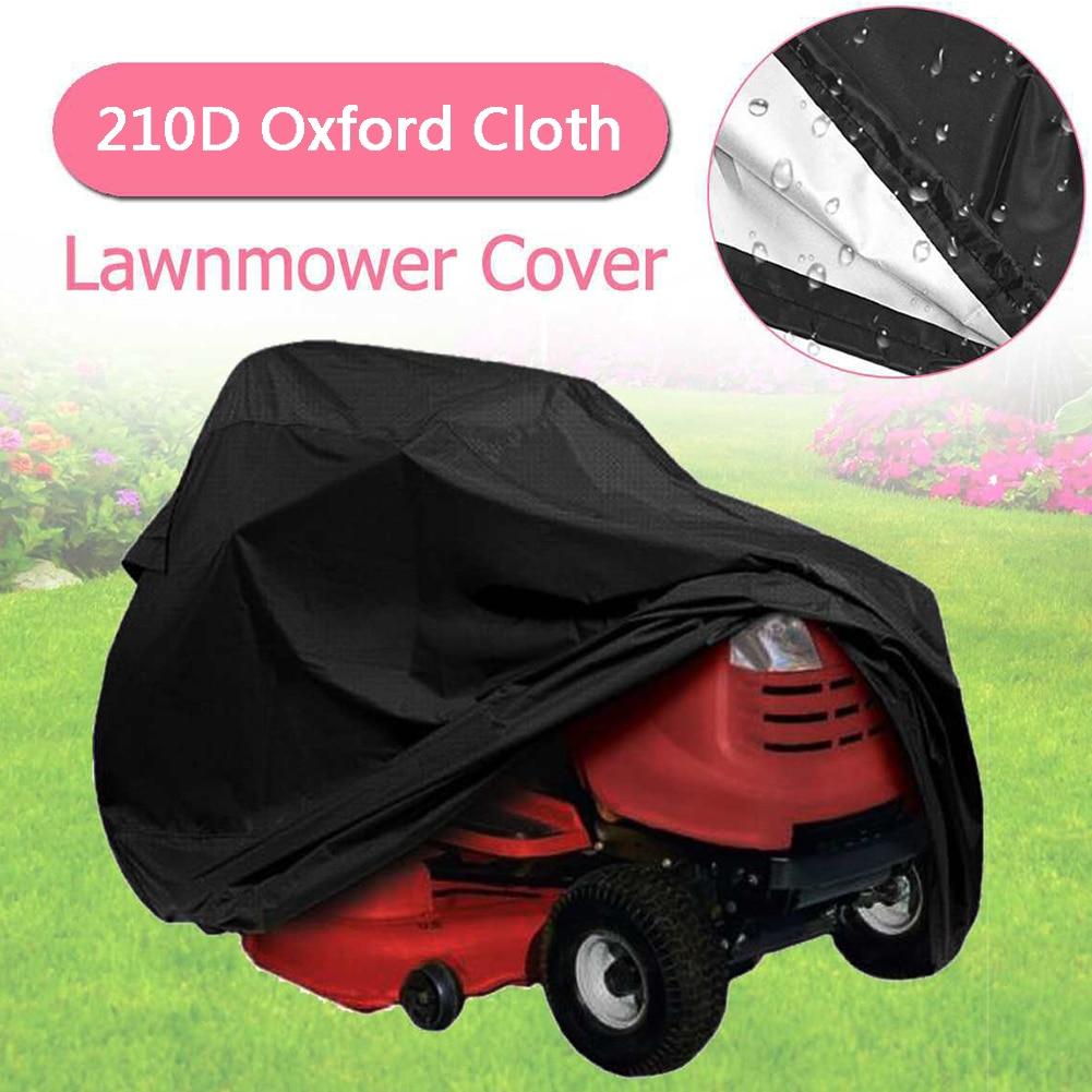 Bolsa de almacenamiento Universal para exteriores, protector solar impermeable para Tractor con cordón, cortacésped sólido, tela protectora Oxford