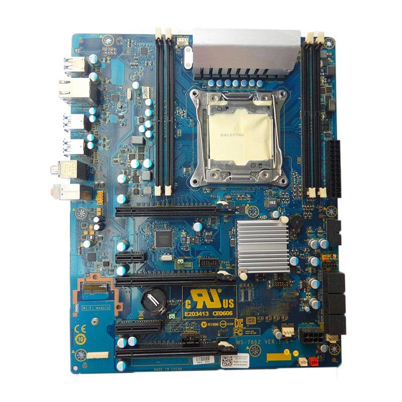Para Dell Alienware Área 51 R2 placa base de escritorio Intel X99...