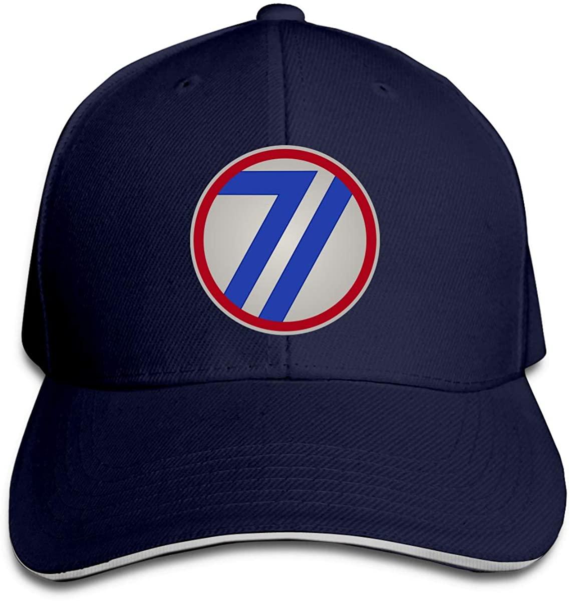 71-е пехотное подразделение, головные уборы унисекс, головные уборы грузовиков, бейсбольные головные уборы, Кепка водителя