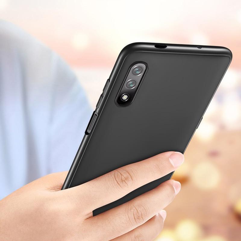 Carcasa mate blanda ultradelgada CAPSSICUM para Huawei Honor 9X PRO 8X MAX carcasas TPU Flexible para Honor 8x 8xmax 9x 9xPRO