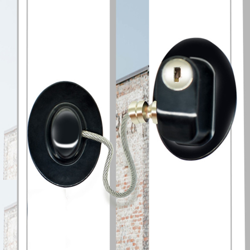 Puerta de protección armario cajón Anti-corrosión ventana gabinete P unch libre Rustproof adhesivo hogar niño seguridad refrigerador cerradura