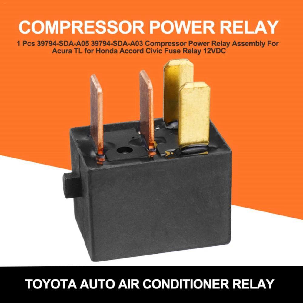 Para Acura TL Para Accord Civic Omron G8HL-H71 conjunto de relé de potencia 12V CC A/C relé del compresor relé de fusibles 39794-SDA-A03