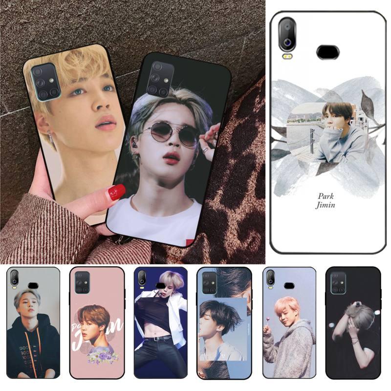 NBDRUICAI Kawaii aesthetic jimin kpop  Bling Cute Phone Case For Samsung A10 A20 A30 A40 A50 A70 A71 A51 A6 A8 2018