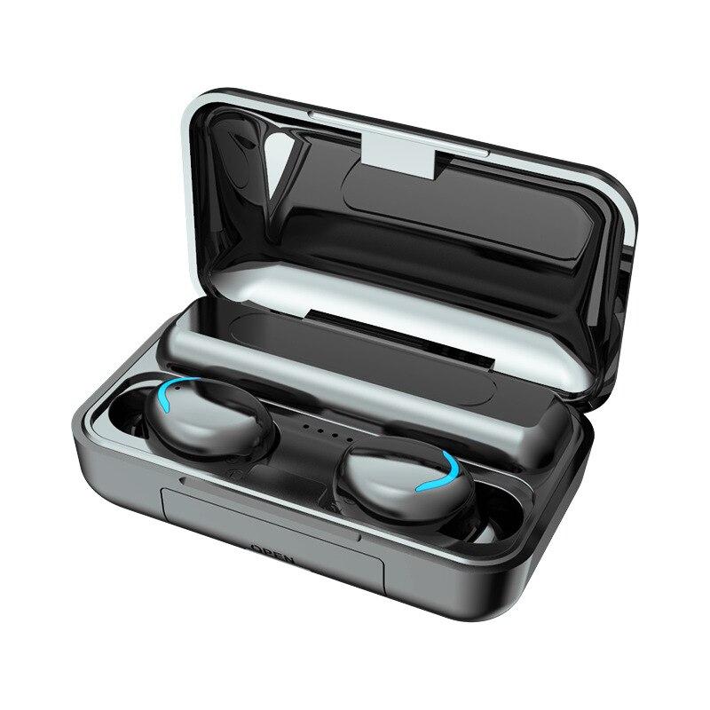 ¡Oferta! Miniauriculares inalámbricos Bluetooth F9, auriculares estéreo de graves profundos resistentes al agua, batería portátil, micrófono incorporado