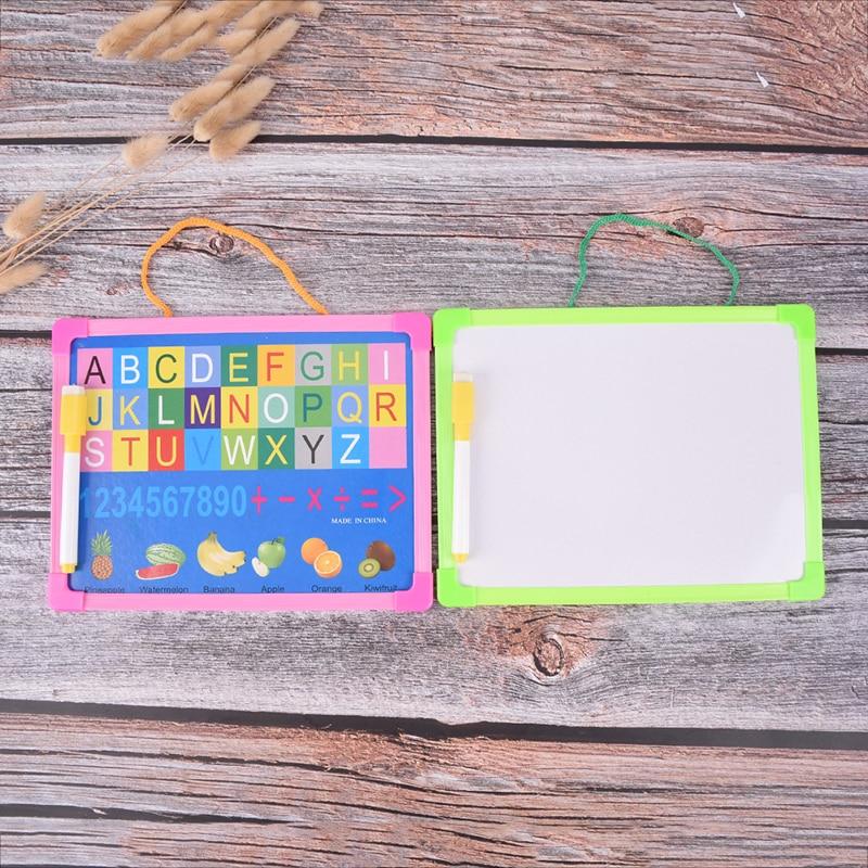 Маркерная Доска протрите сухой доски мини доски для рисования мелких подвесная доска с маркер для белой доски для детей исследование подар...