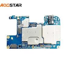 Aogstar Original Work Well Unlocked Motherboard Mainboard Main Circuits Flex Cable For Huawei Y7 Prime 2019 DUB-LX1 DUB-AL00