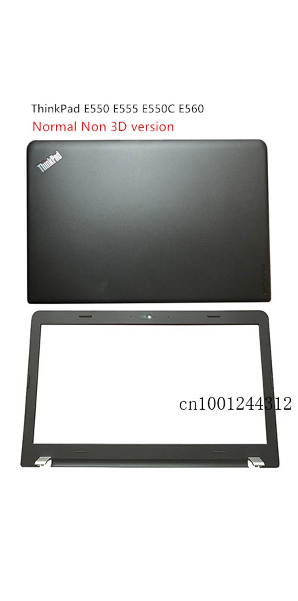 Nuevo Original para Lenovo ThinkPad E550 E555 E550C E560 LCD tapa trasera superior cubierta trasera marco frontal bisel NO/3D 00HN434