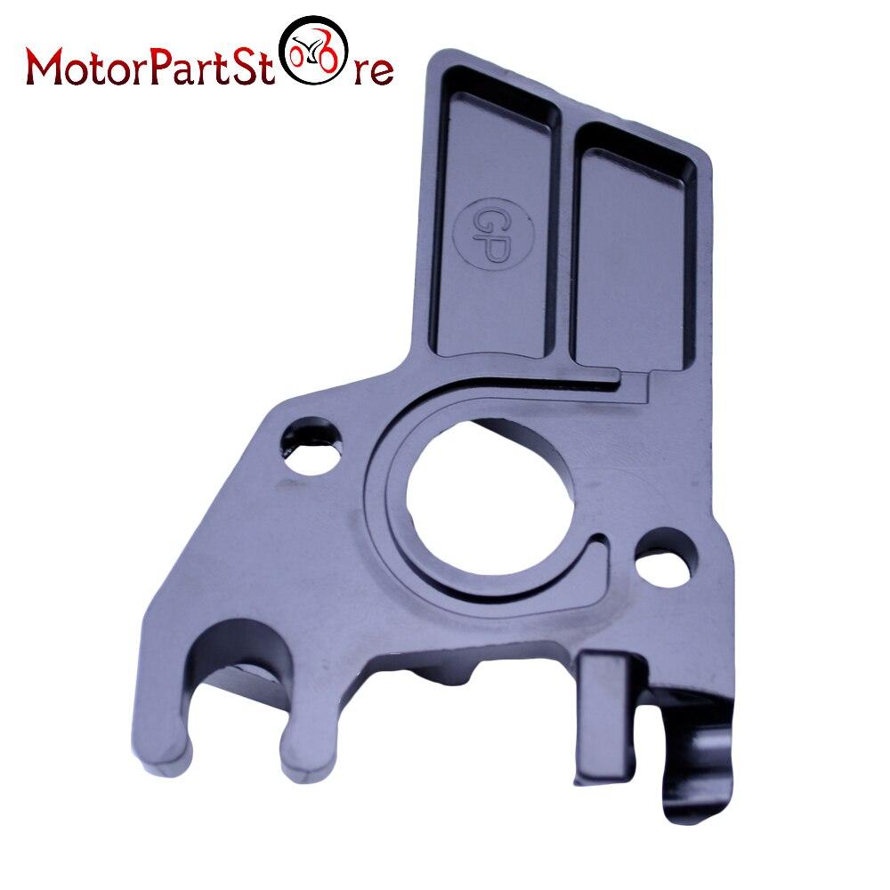 Placa y junta aislante de carburador plástico de alta calidad para motores Honda GX160, 5,5 HP y GX200, 6,5 HP D15