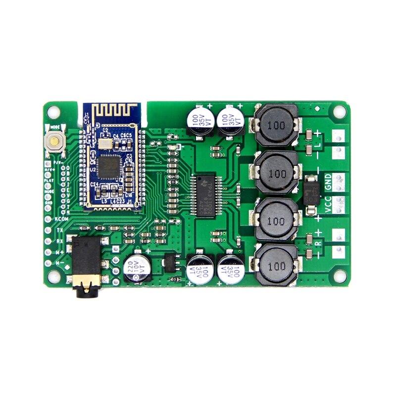 Bluetooth 5,0 tablero Amplificador 20W/30W Mono estéreo Amplificador estéreo TWS AUX apoyo